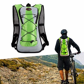 Outdoor Climbing Hiking Camelback Water Bags Hydration Vest Pack Cycling Backpack Water Bag 2L Bladder Camping Rucksack Packsack