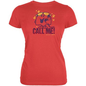 Little Miss Chatterbox - Call Me Vintage Juniors T-Shirt