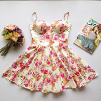 Alia Bustier Dress