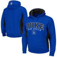 Duke Blue Devils Turf Fleece Pullover Hoodie - Duke Blue