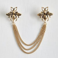 Vintage Inspired Bee Prepared Collar Pin by ModCloth