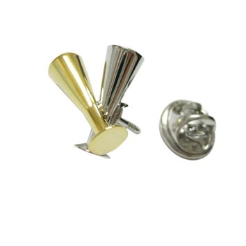 Champagne Sparkling Wine Glass Flute Lapel Pin