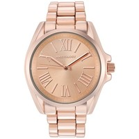"Wristology Chunky Boyfriend ""Rachel"" Ladies Rose Gold Watch Wristwatch for Women"
