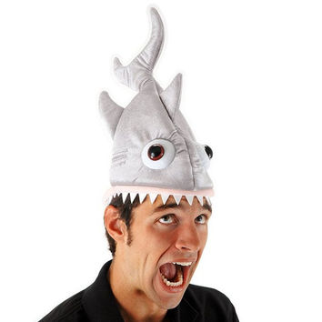 Adult Shark Plant Costume Hat
