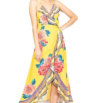 Cabana Sunrise Wrap Dress