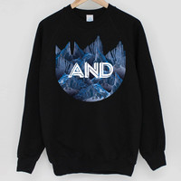 ANDCLOTHING — AND Ice Mountain Sweater