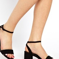 ASOS HEY THERE Heeled Sandals