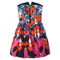 Peter Pilotto® for Target® Jacquard Dress -Red Iris Print