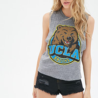 FOREVER 21 UCLA Bruins Muscle Tee Heather Grey/Multi
