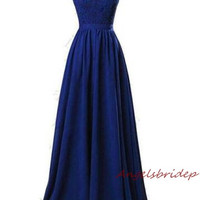 ANGELSBRIDEP Long Bridesmaid Dresses Robe Demoiselle D'honneur Sexy V-Neck Applique Sash Floor-Length Formal Party Gown Hot