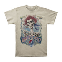 Grateful Dead Men's  Big Bertha T-shirt Ivory