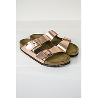 Arizona Metallic Copper Birkenstocks | Best Seller