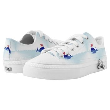kawaii narwhal sneakers shoes printed shoes