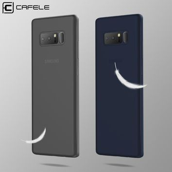 Original CAFELE Phone Case for Samsung Galaxy Note 8 Ultra-thin Matte PP Mobile Phone Luxury Back Shell for Samsung Note 8 Case