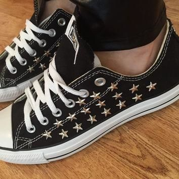 Star Studded Converse Shoes