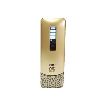 Latest sexy leopard pattern nono hair  Pro 5 Levels Hair Shaver Removal full boby  Epilators Professional  For Men& women (Color: Gold) = 1932985284