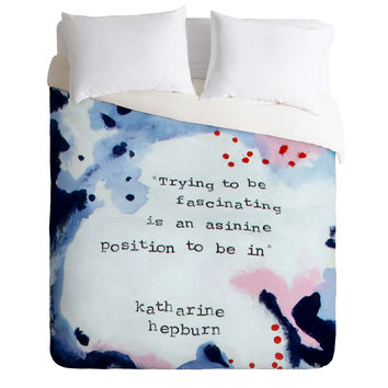 Deb Haugen Fascinating Duvet Cover