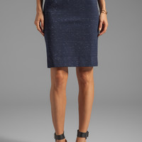 Marc by Marc Jacobs Alicia Ponte Skirt in Ink Blue Melange from REVOLVEclothing.com