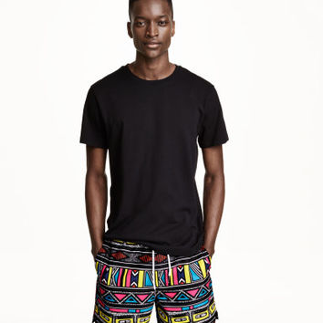 H&M Patterned Swim Shorts $24.99