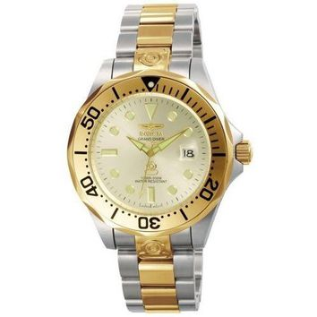 Invicta Men's 3050 Pro Diver Automatic 3 Hand Silver Dial Watch