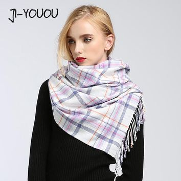 poncho winter women's scarf scarves for women shawl stoles fur collar cashmere scarf cloak blanket warm knitted plaid bandana