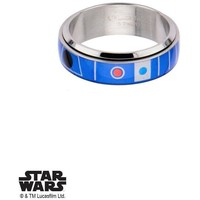 Star Wars R2D2 Ring - Chrome