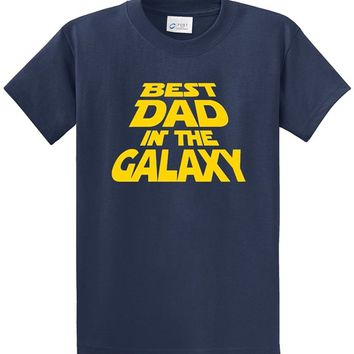 Best Dad In The Galaxy T-Shirts - Men's Statement Tees