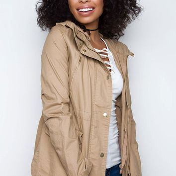 Mercer Jacket - Khaki