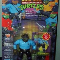 Star Trek Teenage Mutant Ninja Turtles First Officer Donatello Action Figure