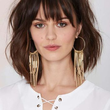 Angelina Suede Hoop Earrings