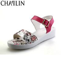 Hot Selling Women shoes Summer Women sandals 2017Women's Shoes Flower Sandalias  Roman sandals shoes woman sandalias 1517
