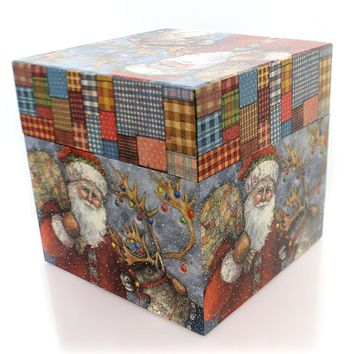 Christmas 3Xlarge Santa Lang Box Christmas Decor