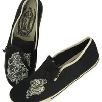 Los Muertos Women's Flats - Shoes - Women's - Grease, Gas and Glory