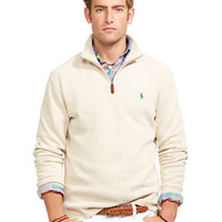 Polo Ralph Lauren French-Rib Mockneck Pullover
