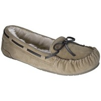 Product:  Women's Chaia Genuine Suede Moccasin Slipper - Tan