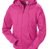 Adult Unisex French Terry Zip Hoodie - - Delta Apparel