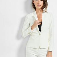 24 inch one button jacket
