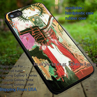 Basquiat Painting Untitled iPhone 6s 6 6s+ 5c 5s Cases Samsung Galaxy s5 s6 Edge+ NOTE 5 4 3 #other dt
