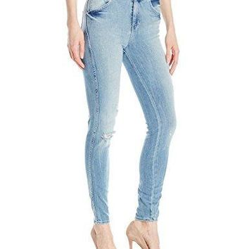 GUESS Women's Super High Rise Jean