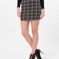 Grey Check Mini Skirt - Shorts and Skirts - Sale & Offers