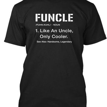Funcle Shirt   Cool Funny Uncle Gift