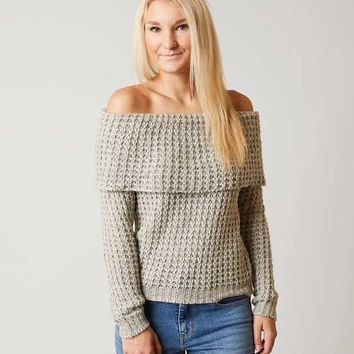 BKE FOLD OVER SWEATER