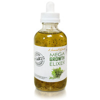 Mega Growth Hair Elixer 2 oz -Hair Growth Formula - Scalp Treatment - With Horsetail, Nettle, Tea Tree, Rosemary & much more