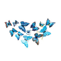 12 Pcs DIY 3D Butterfly Wall Stickers Home Decor for Living Room,Bedroom,Kitchen,Toilet,Festive Wedding Decoration