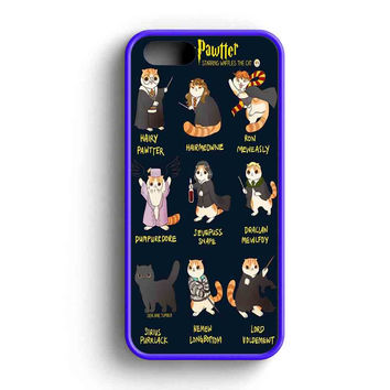 Harry Potter Cat Hairy Pawter  iPhone 5 Case iPhone 5s Case iPhone 5c Case