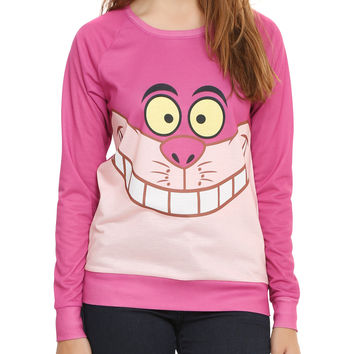 Disney Alice In Wonderland I Am Cheshire Cat Girls Pullover Top