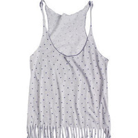 Printed Fringe Bottom Tank