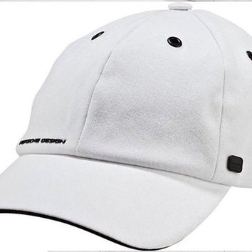 Porsche Design Sport by adidas P'5000 Pro Stretch Cap Hat White BNWT X12374