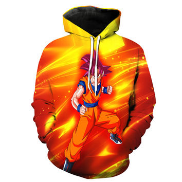 Super Saiyan God Goku Battle Of Gods Dragon Ball Z Hoodie