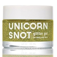 Unicorn Snot Glitter Gel for Body and Face - Gold